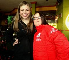 w Rachelle Barbeau - Special Olympics Cross Country Skier from SSM!