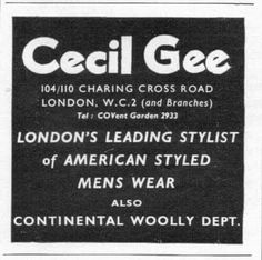 Cecil Gee