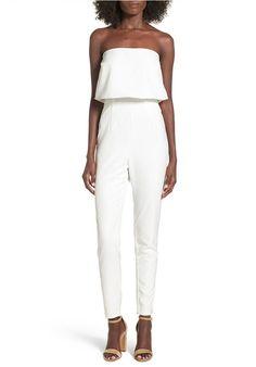 White Jumpsuit for Women //Price: $33.52 & FREE Shipping //     #womensfashion