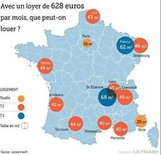 Le loyer moyen des Français est de 628 euros par mois | Comprendre vos placements et votre patrimoine avec un Expert en gestion de patrimoine Cyril JARNIAS! | Scoop.it