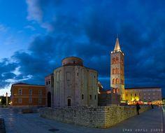Roman Ruins in Zadar   Travel Croatia Guide