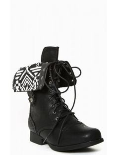 South Bound Lace Up #Boots