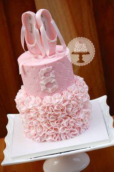 ballet birthday cake by Ballet Birthday Cakes, Ballet Cakes, Ballerina Birthday Parties, Ballerina Cakes, Birthday Cake Girls, Ballerina Pink, Dance Cakes, Gateaux Cake, Ruffle Cake