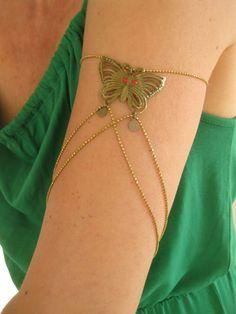 Armlet,Armkette Schmetterling