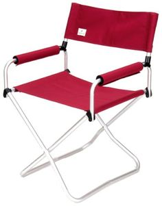 Snow Peak Folding Chair Red -- Continue to the product at the image link.(This is an Amazon affiliate link)