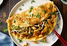 Chinese chicken and cashew omelette recipe - 9kitchen