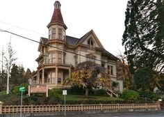 """Pirate Museum fron """"The Goonies""""- Captain George Flavel House Museum, Oregon   29 Movie Locations You Can Actually Visit"""