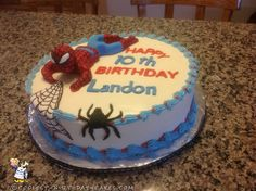 Amazing Spider-Man Birthday Cake...