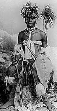 Shaka Zulu ruled the Zulu nation during the times of the slave trade. He revolutionized the Zulu army and played a crucial part in Zulu history. http://africanadrenalin.co.za/IsibindiAfrica/zulu_history.htm