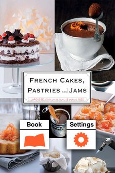 Discover a whole new cooking experience with the new Petit Larousse Pâtissier for iPad