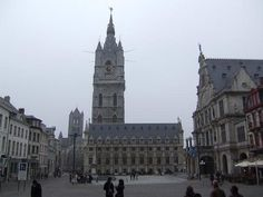 The Belfry Tower in Ghent