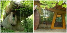 Take a look at this fabulous treehouse designed by Frank Lloyd Wright. It's situated in Portland, Oregon and it's a celebration of the natural environment that surrounds it. You know how much we love treehouses here at Kebony - and we love trees too which is why we create sustainable products that don't harm the rain-forest.  Picture credit: homedit.com