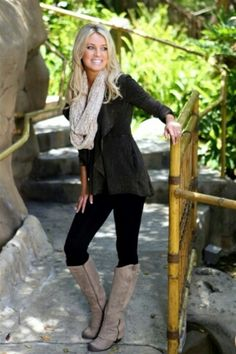 40 Stylish Fall Outfits For Women - these would look great with any of our Brimmins! Cute Fall Outfits, Fall Winter Outfits, Autumn Winter Fashion, Summer Outfits, Black Outfits, Winter Style, Fashion Moda, Look Fashion, Womens Fashion
