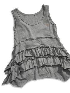 GUESS Kids Girls Big Girl Tank Top Ruffles « Clothing Impulse