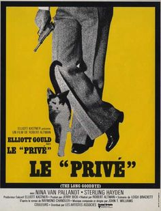 The Long Goodbye (French) 11x17 Movie Poster (1973)