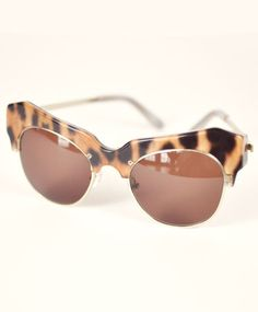 Leopard Cosmic Sunglasses by Shakuhachi.