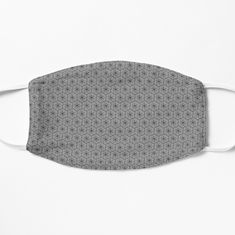 Face masks help you express yourself even when you can't show your face and protect you at the same time.  #facemask #mask #blackpatternmask#maskwithpattern Hexagon Pattern, Black Pattern, Face Masks, Stuff To Buy, Accessories, Facials, Jewelry Accessories