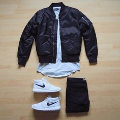 bomber jacket nike hip hop style follow //UnitedNationz// for our latest Streetwear