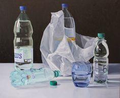 Miguel Angel Nunez - Botellas Con Vaso Azul