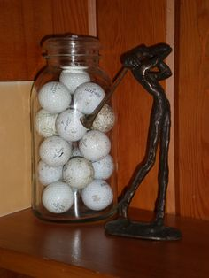 Neat Idea to Keep the golf balls that Matthew wins tournaments with!!
