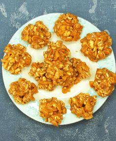 Erdnussbutter-Honig-Crossies