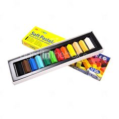 12 Colors Hair Color Pastel Chalk
