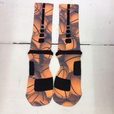 """Custom Nike Elite Socks """"Basketball"""" from Sock Insanity on Storenvy"""