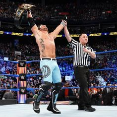 The odds are stacked against AJ Styles in a Six-Pack Challenge for the WWE Championship when he faces off with John Cena, Baron Corbin, Kevin Owens, Sami Zayn and Dolph Ziggler. Aj Styles, Wwe Pay Per View, I Have Spoken, Wwe Photos, Yesterday And Today, Professional Wrestling, Superstar, Champion, Challenges