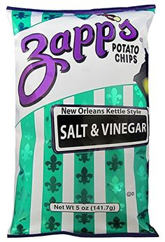 Zapps Kettle Style Potato Chips Salt Vinegar Flavor 5 Oz 6 Bags >>> Find out more about the great product at the image link. Snack Recipes, Healthy Recipes, Snacks, Gourmet Cheese, Potato Chips, Kettle, Vinegar, New Orleans, Street Quotes