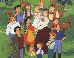 Missis Joe und ihre fröhliche Familie.    Wakakusa monogatari: Nan to Jō-sensei