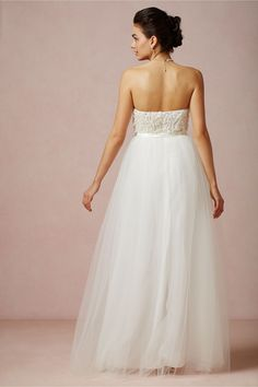 Titania Gown in Bride Wedding Dresses at BHLDN