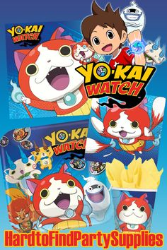 Carte Anniversaire Yokai.Invitation Anniversaire Yo Kai Watch Gratuit
