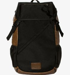 Flud | Products | THE TECH BAG (OSTRICH BROWN/BLACK) TB014