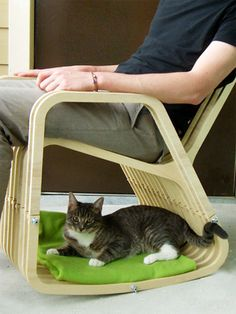 Cat Bed Rocking Chair