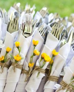 Detalles que decoran la mesa, ideal para eventos y sorprender a invitados: decorar las servilletas