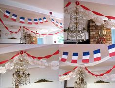 Bastille Day decorations