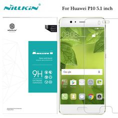 For Huawei P10 5.1 inch Tempered Glass Nillkin Amazing H 9H 0.3mm Anti-Glare Ultra Thin Screen Protector For Huawei P10 Plus 5.5