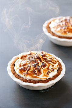 Looking for something different to make this Thanksgiving? This S'mores Pumpkin Pie is just the ticket, with graham cracker crust, chocolate ganache, classic pumpkin filling, and toasted marshmallow topping.