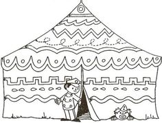 Worksheet Circus Tent for Circus Theme. Doodle Coloring, Colouring Pages, Coloring For Kids, Scary Clown Makeup, Scary Clowns, Daycare Themes, School Themes, Circus Art, Circus Theme