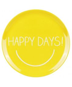 A melamine platter from Happy Jackson - Happy days indeed!