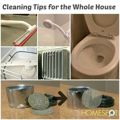 Cleaning tips and tricks for the whole house #cleaning