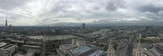 From The Shard in the East to Westminster centre right and onwards towards Chelsea