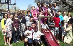 Family Has 34 Children, 29 of Whom Were Adopted, And It's About to Get Bigger http://www.lifenews.com/2014/12/23/family-has-34-children-29-of-whom-were-adopted-and-its-about-to-get-bigger/