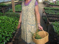 Farm Smock apron pinafore by summerfieldfarm on Etsy, $34.95