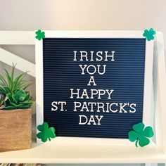 Patrick's Day Letter Board Ideas - Army Wife With Daughters Patricks day letterboard 20 Letter Board Ideas For St. Work Quotes, Me Quotes, Funny Quotes, Funny Humor, Word Board, Quote Board, Message Board, Felt Letter Board, Chalkboard Lettering