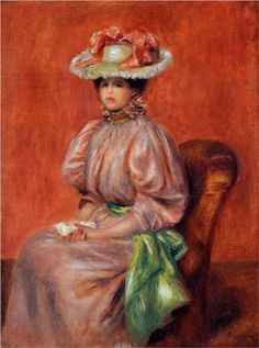 Seated Woman - Pierre-Auguste Renoir