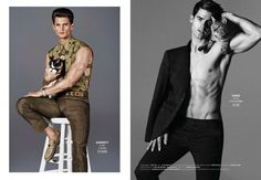 Models with Cats: Chad White, Garrett Neff, RJ Rogenski + More for Out image Models with Cats photo 003 800x553