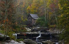 Glade Creek MIll at Babcock State Park, West Virginia