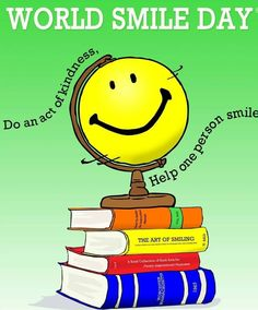 """World Smile Day® occurs annually on the first Friday in October, check out how you can help spread some smiles.""""Do an act of kindness. Help one person smile""""! World Smile Day, World Days, Smile Qoutes, Smile Word, Ball Drawing, Cool Gadgets To Buy, Positive People, Custom Posters, Custom Framing"""