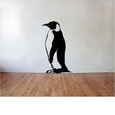 Penguin Wall Decal by TipitDesigns on Etsy